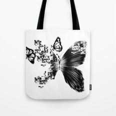 pixelated Tote Bag