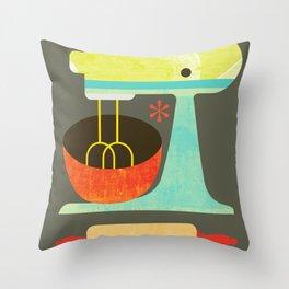 Kitchen Mix & Roll Throw Pillow