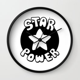 Star Power Wall Clock