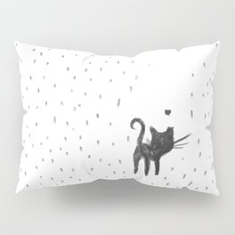 Loving in the rain Pillow Sham
