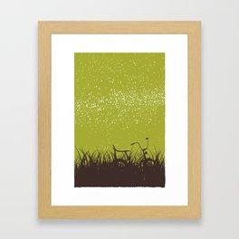 Bike - Starry Skies Series 1 Framed Art Print