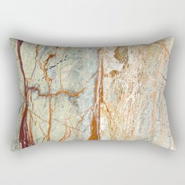Colorful Textured Granite Rectangular Pillow