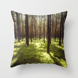 FOREST - Landscape and Nature Photography Throw Pillow
