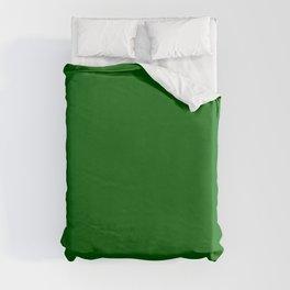 Dark Green Duvet Cover