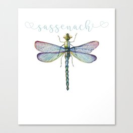 Sassenach Dragonfly Canvas Print