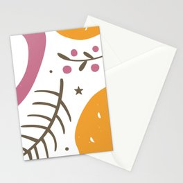 Apple, lemon and branches Stationery Cards