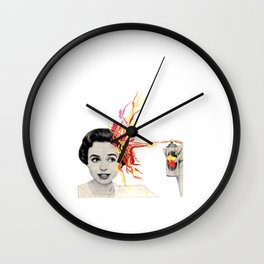My head's not in the game Wall Clock