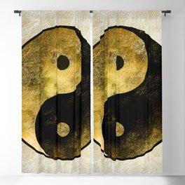 Yin and Yang Blackout Curtain
