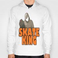 skateboard Hoodies featuring SKATEBOARD  by Robleedesigns