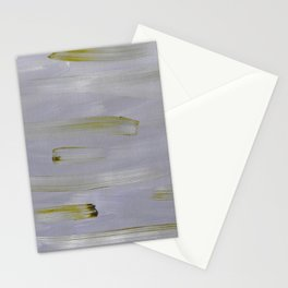 Green and Mauve Stationery Cards