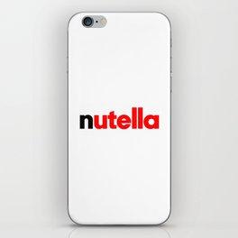 Peanut and Chocolate iPhone Skin