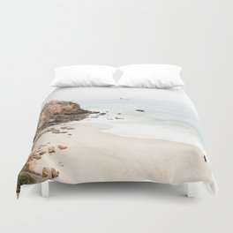 Malibu California Beach Duvet Cover