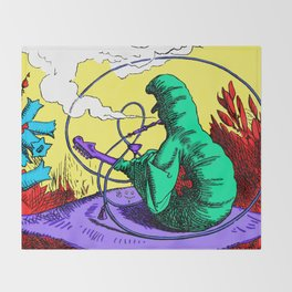 The Caterpillar! Throw Blanket