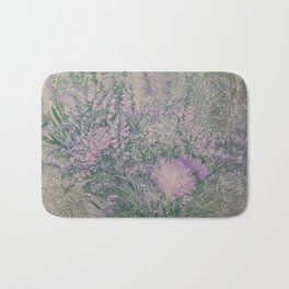 PURPLE BOUQUET Bath Mat