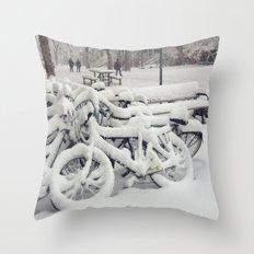Let's Snow! Throw Pillow