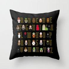 St_ar Wars Alphabet 3 Throw Pillow