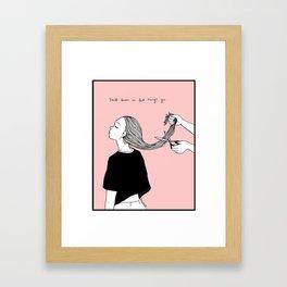 You'll Learn Framed Art Print