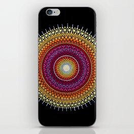 Rising Sun Mandala iPhone Skin