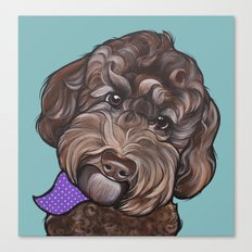 Maddie the Doodle Canvas Print