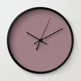 Ash Rose Dragon Scales Wall Clock