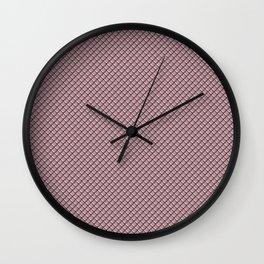 Ash Rose Dragon Scales Wall Clock