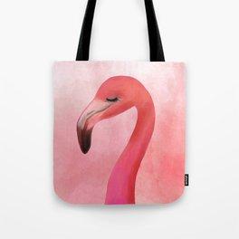 Lashy Flamingo by Katrina Ward Tote Bag