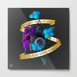 Tarn Tattoo Metal Print