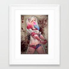 Harley Suicide Squad Framed Art Print
