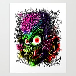 The Invader Art Print