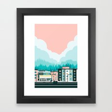 A View of 12th Avenue Framed Art Print