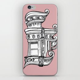 Distortions in Pink iPhone Skin