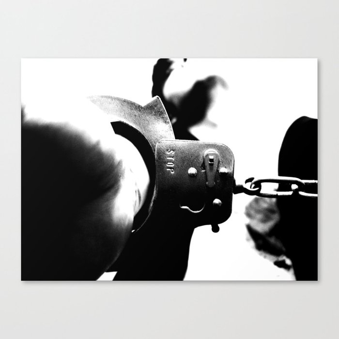 [ ... Guilty - #4. ] Canvas Print