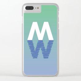 MW 1 Clear iPhone Case