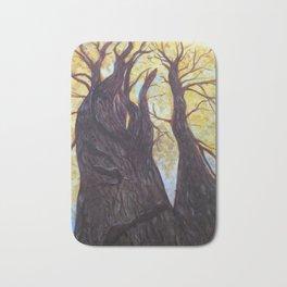 Oak Tree in Autumn Bath Mat