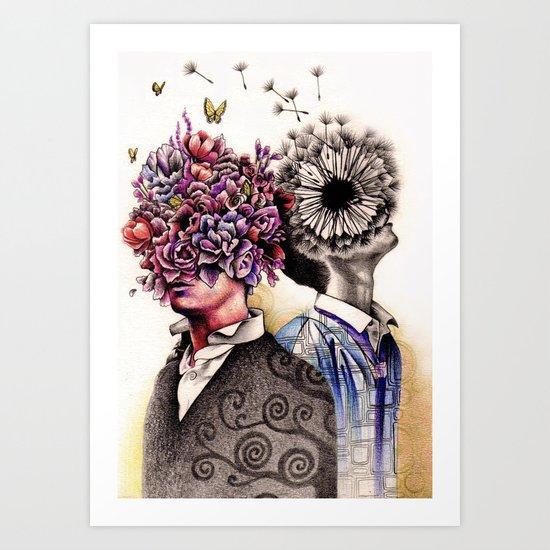 Optimist/Pessimist Art Print