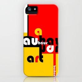 Bauhaus Lamp iPhone Case