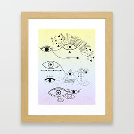 Connected II Framed Art Print