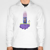 fez Hoodies featuring Dr. Who's Fez by IF ONLY