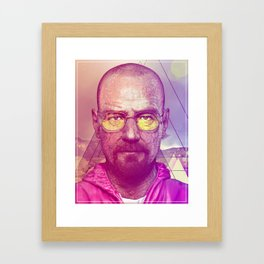 Breaking Blaow Framed Art Print