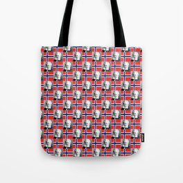 flag and portrait: Ibsen Tote Bag