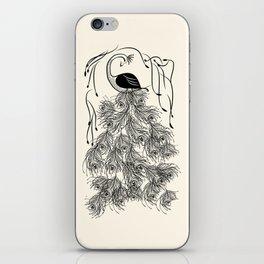 Jungle Peacock iPhone Skin