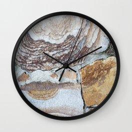 Vintage Shabby Pale Blue Wood Design Wall Clock