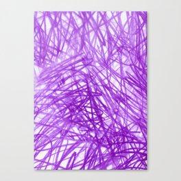 Ophelia Purple Canvas Print