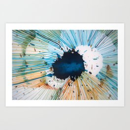 The Source of Blue Art Print