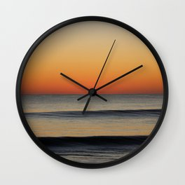 Waves in your Horizon Wall Clock