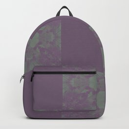 Purple Dreadlocks Backpack