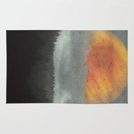 Spaces XVI - Fireball Rug