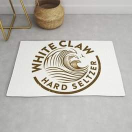 Distressed White Claw Rug