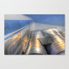 Tupolev TU-144 Russian Concorde Canvas Print