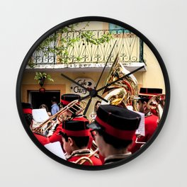 sokraki_village Wall Clock